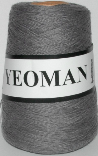 Yeoman Sport  Pure Virgin Merino Wool - Med Grey Mix
